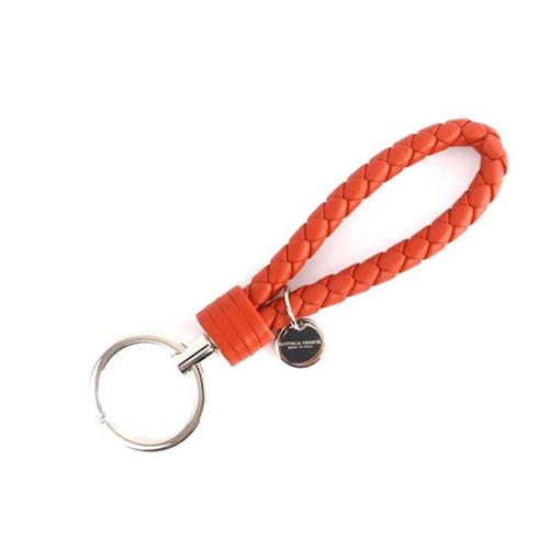 BOTTEGA VENETA 小羊皮 key圈(夕陽橘色) 113539 V001D 7511