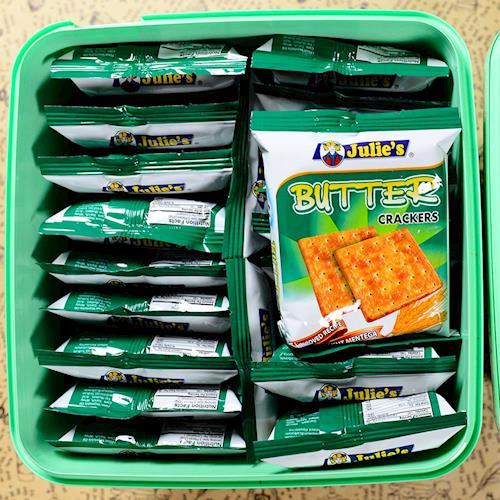 【Julies】茱蒂絲奶油蘇打餅桶裝(500gx6罐/組)