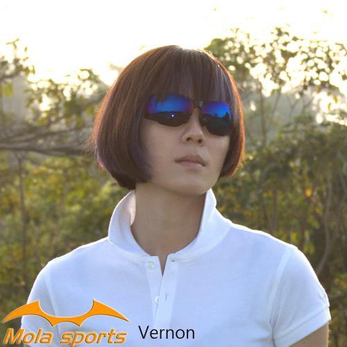 MOLA SPORTS 摩拉時尚運動太陽眼鏡 一般臉型 男女可戴 Vernon-b