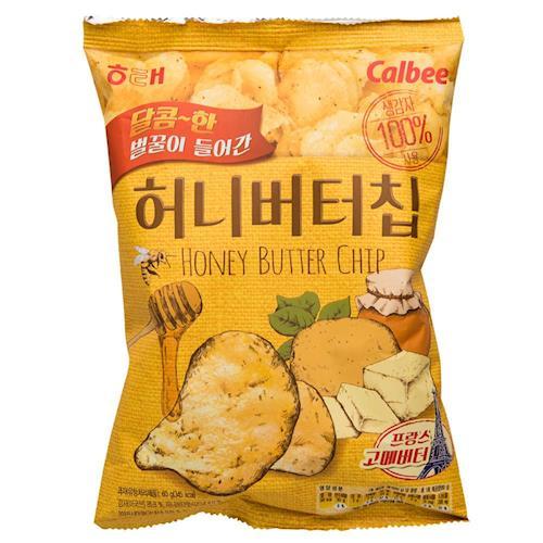 【HAITAI】海太蜂蜜奶油洋芋片(60gX16包/組)