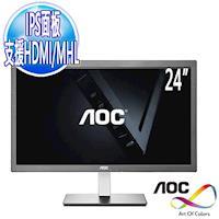 ~艾德蒙 AOC~I2476VWM6 WB 24型IPS  黑  液晶螢幕