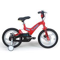 寶貝樂 16吋超輕量鎂合金前後碟煞避震腳踏車 打氣胎
