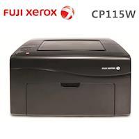 FujiXerox DocuPrint CP115W 彩色無線S~LED印表機 黑