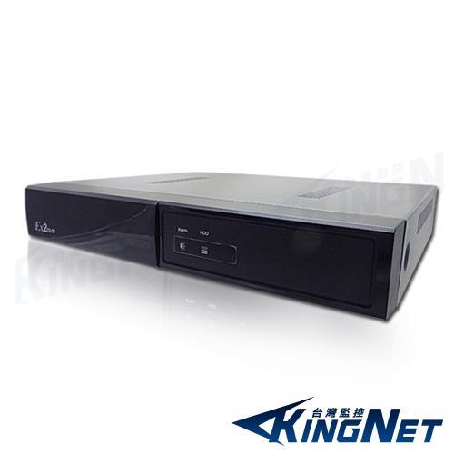 【KINGNET】【台灣研發】 4路 4聲 監控主機 1080P AHD TVI 向下相容 防駭主機 多路回放