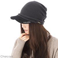 QUEEN~HEAD 抗寒保暖抗UV防曬 帽  款042木炭色