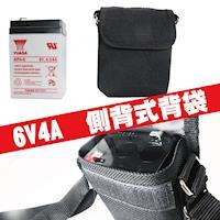 ~CSP~6V4A電池背袋 電池袋 側背袋 後背袋 背肩袋 防水尼龍