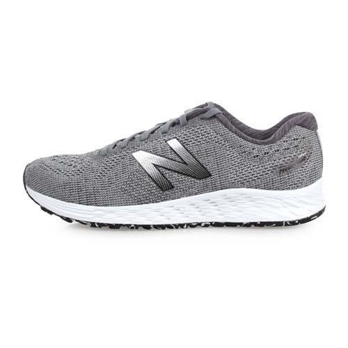 NEWBALANCE FRESH FOAM 男慢跑鞋-2E-訓練 路跑 NB 灰銀