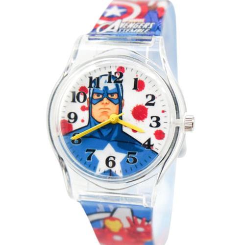 迪士尼Marvel休閒錶 (大/中) - 【Marvel漫威】卡通錶 - 英雄美國隊長 (A-36)