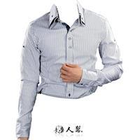 ~男人幫~S0191~品味 專屬型男雅痞長袖襯衫 1色 5 Size