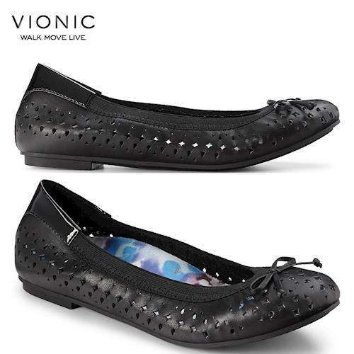 【美國VIONIC法歐尼】健康美體鞋Surin 蘇琳 (金、黑) -女鞋
