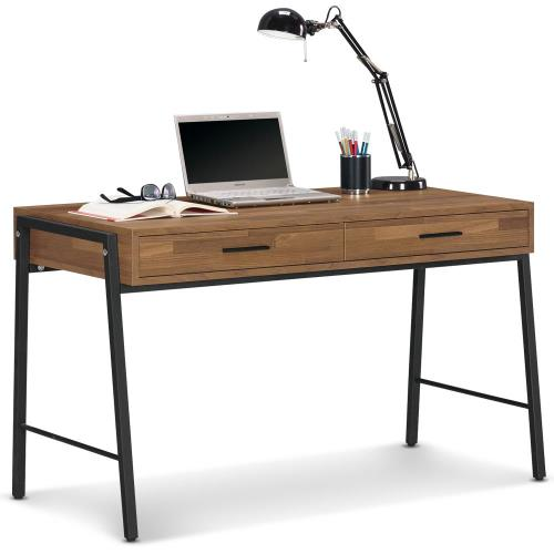 【MY傢俬】現代工業風4尺書桌(兩色可選)