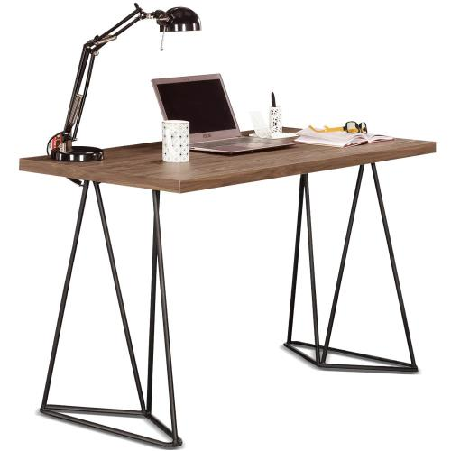 【MY傢俬】簡約工業設計風格4尺書桌(兩色可選)
