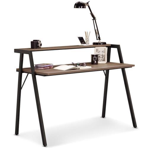 【MY傢俬】設計低調工業風3.6尺書桌(三色可選)