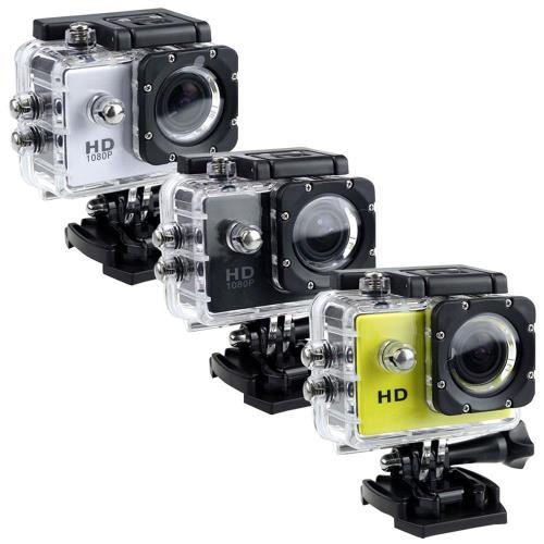 2入組 S-SHOT 1080P高畫質機車行車記錄器運動攝影機