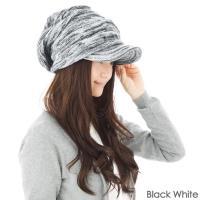 QUEEN~HEAD 抗寒二重保暖 針織帽 040黑 白色