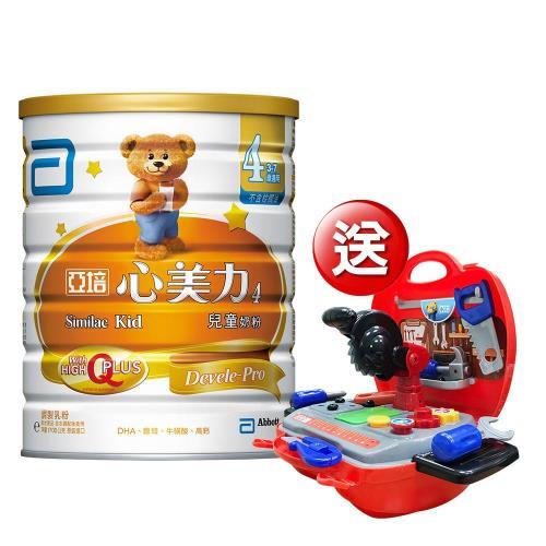 亞培 心美力4號 High Q Plus(1700公克x2罐)+(贈品)亞培 POLI 救援工具組