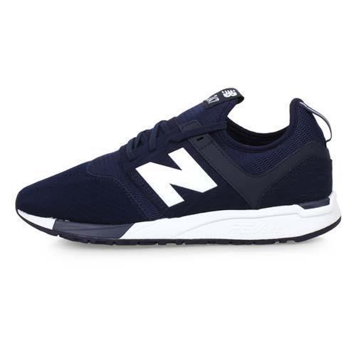 NEWBALANCE 247系列 男復古休閒運動鞋-D-NB N字鞋 丈青白