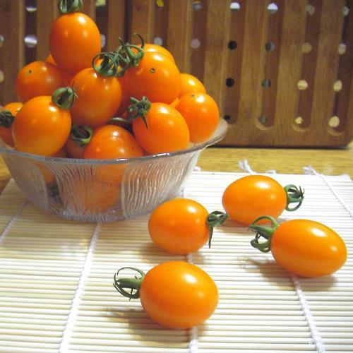 【綠安生活】有機錦珠小番茄10斤/箱(1斤/盒)