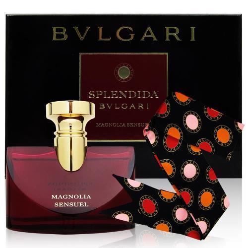 BVLGARI寶格麗 醉美蘭香女性淡香精禮盒100ml(含絲巾)