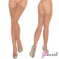 Gaoria誘惑蕾絲花邊 性感過膝 絲襪 長筒襪 高筒大腿襪 膚