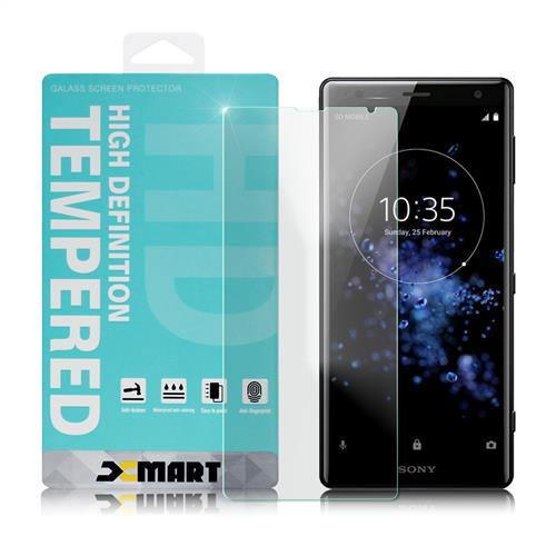 Xmart for Sony Xperia XZ2 薄型 9H 玻璃保護貼-非滿版