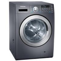 SAMSUNG 三星 14公斤 洗脫烘 雙效威力淨 滾筒洗衣機 WD14F5K5ASG 黑