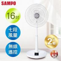 SAMPO聲寶 16吋 微電腦遙控DC節能風扇 SK-FH16DR