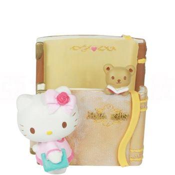 《Hello Kitty》Kitty小熊閱讀時光置物桶