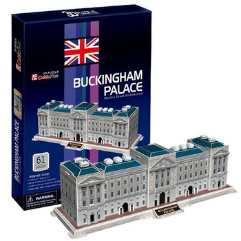 3D Puzzle 世界建築精裝版 英國倫敦白金漢宮
