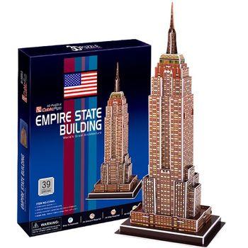 3D Puzzle 世界建築精裝版 美國紐約帝國大廈