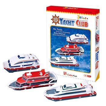 3D Puzzle 兒童系列 快艇俱樂部