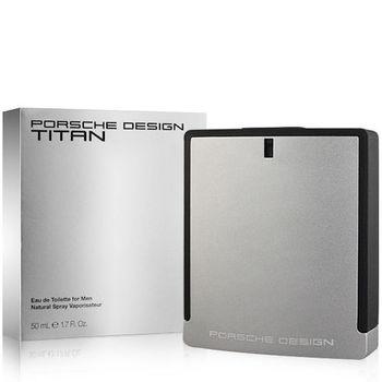 Porsche Design 鈦元素男性淡香水(50ml)-送IPHONE 4 手機殼+針管