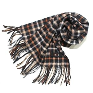 DAKS經典正格紋圍巾+DAKS帕領巾