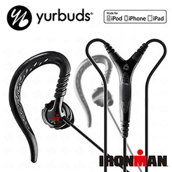 《Yurbuds》Focus Pro運動型入耳掛式線控麥克風耳機(黑) (AYUR-009)