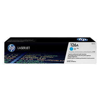 《印象深刻3C》 HP原廠碳粉匣 CE311A藍  (1,000張)