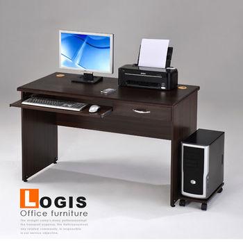 功能兩實用電腦辦公桌/書桌(附主機架)