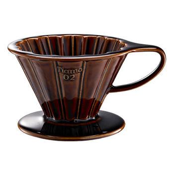 TIAMO V02花漾陶瓷咖啡濾器組 附濾紙量匙滴水盤