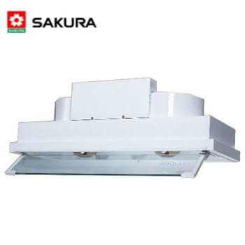 【櫻花】 SAKURA- DR-3590XL 渦輪變頻全隱藏式除油煙機 90cm