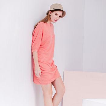 ST.MALO風格設計剪裁亞麻罩衫