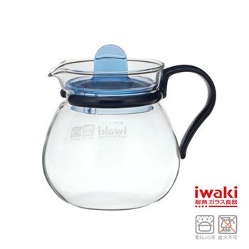 【iwaki】新款玻璃微波小茶壺 400ml