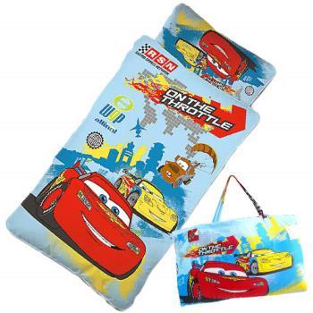 閃電麥坤 CARS外出篇 幼教兒童睡袋 4x5尺藍