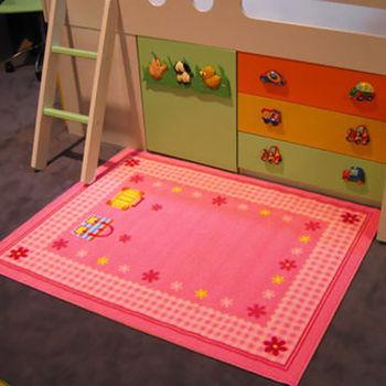 范登伯格 兒童成長學習遊戲毯-粉紅驚喜-100x130cm