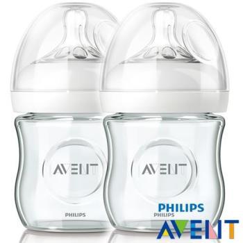 PHILIPS AVENT 親乳感玻璃奶瓶120ml(雙入)