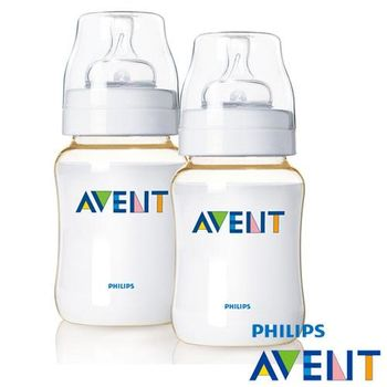 PHILIPS AVENT PES防脹氣奶瓶260ml(二入)