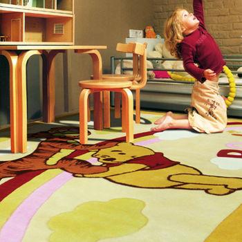 范登伯格 兒童成長學習遊戲毯-維尼熊與跳跳虎-140x200cm