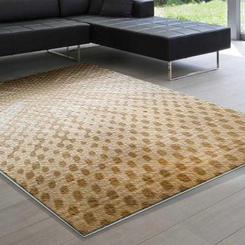 范登伯格 威尼斯柔順蓬鬆長毛地毯-光點-160x230cm