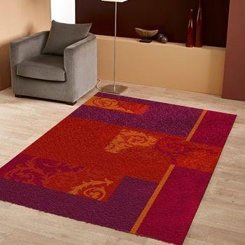 范登伯格 春妮唯美典雅仿羊毛地毯-花浪-120x170cm