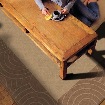 范登伯格 萊富手工編織羊毛地毯-圈框-160x240cm