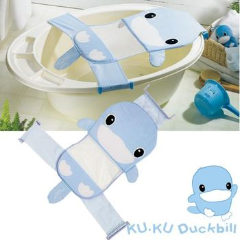 任KU.KU酷咕鴨造型可調式安全浴網-2色