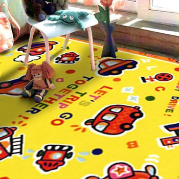 范登伯格 兒童成長學習遊戲毯-飛天世界-100x130cm